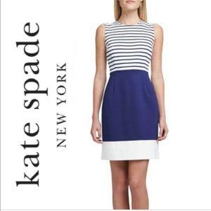 Kate Spade Sarita Sleeveless Combo Dress Size 8